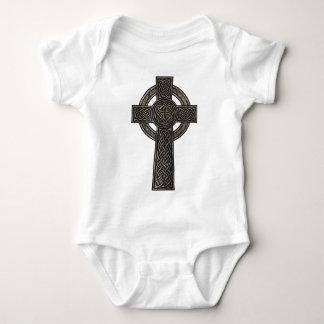Celtic Cross Baby Bodysuit