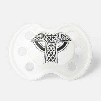 Celtic cross baby pacifier
