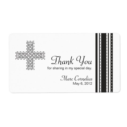 Celtic Cross First Holy Communion Favour