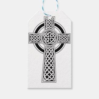 Celtic cross gift tags