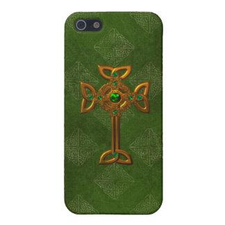 Celtic Cross iPhone 5/5S Cases