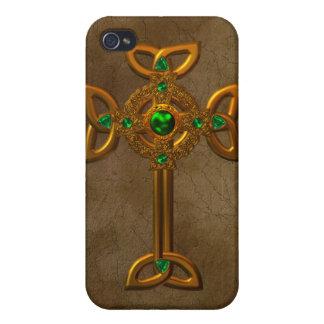 Celtic Cross iPhone 4 Cases