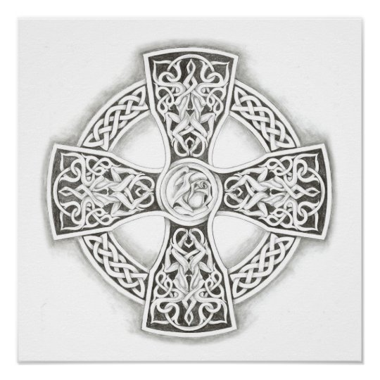 Celtic Cross - Y Groes Geltaidd Limited Edition Celtic Art ...   Celtic Fine Art Prints