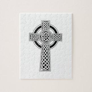 Celtic Cross Jigsaw Puzzle
