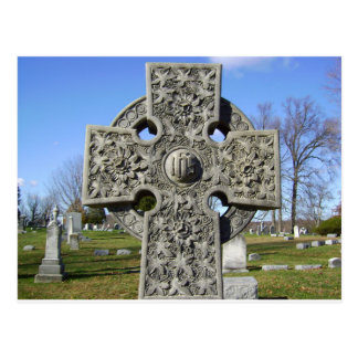 celtic cross  postcard