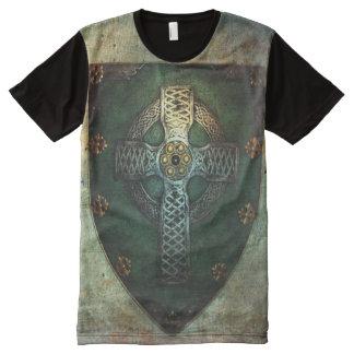 Celtic Cross Shield T-shirt