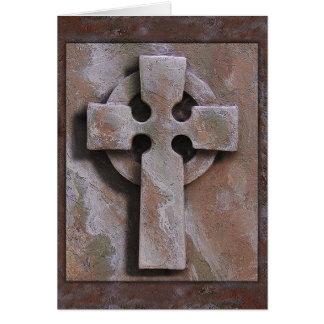 """Celtic Cross"" Simulated Artifact Card"