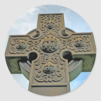 Celtic Cross Stickers