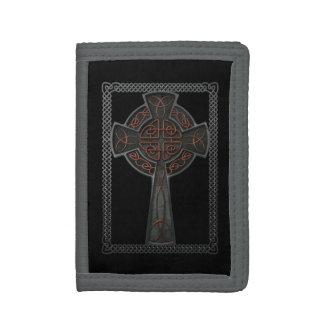 Celtic Cross Tri-fold Wallets
