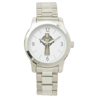 Celtic cross watch