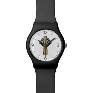 Celtic cross wristwatches