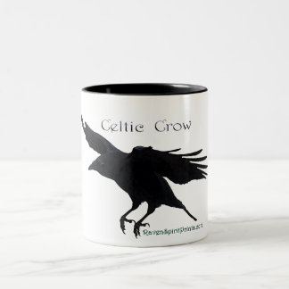 CELTIC CROW Mug