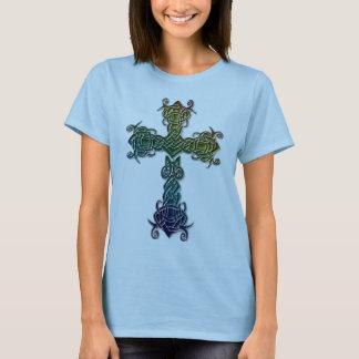 Celtic De Colores Cross T-Shirt