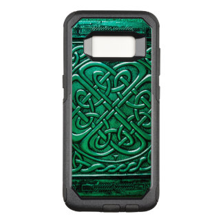 Celtic Design (1) Green OtterBox Commuter Samsung Galaxy S8 Case