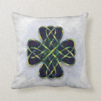 Celtic Design 2 - Dragon Scales Throw Pillow