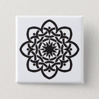 Celtic Design 2 Inch Square Button