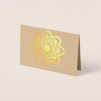 Celtic Design Foil Card