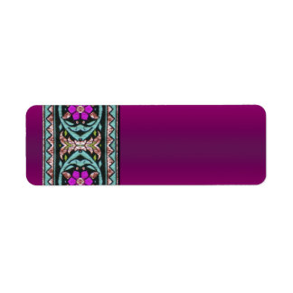 Celtic Design in Dark Purple