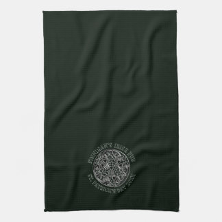 Celtic Design St. Patrick's Day Bar or Kitchen Towel