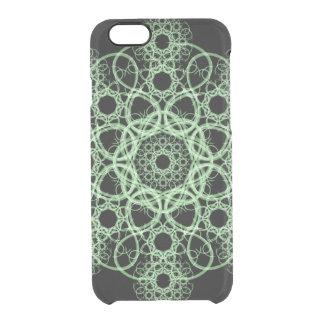 Celtic Disc Mandala Clear iPhone 6/6S Case