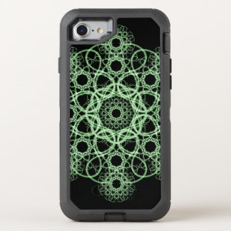 Celtic Disc Mandala OtterBox Defender iPhone 7 Case