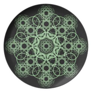 Celtic Disc Mandala Party Plates