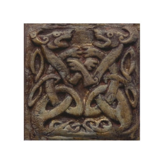 Celtic dragee ONS Wood Wall Art