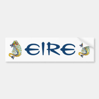 Celtic Dragon Bumper Sticker