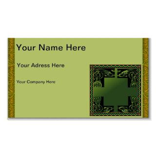 Celtic Dragon Business Card