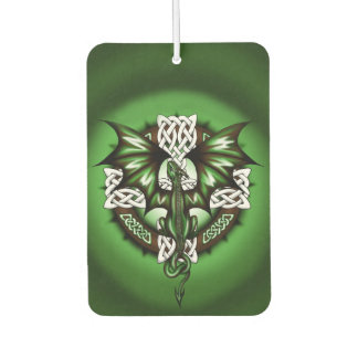 Celtic Dragon Car Air Freshener