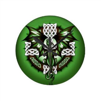 celtic Dragon Clock