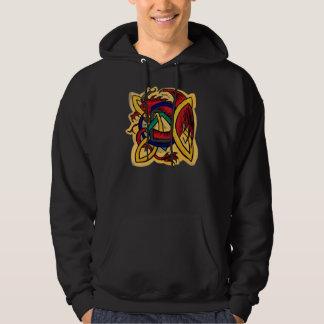 Celtic dragon guys hoodie