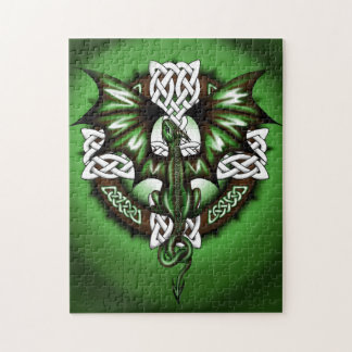 celtic Dragon Jigsaw Puzzle