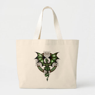 celtic Dragon Large Tote Bag