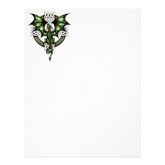 celtic Dragon Letterhead