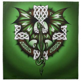 celtic Dragon Napkin