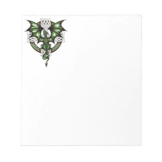 celtic Dragon Notepad