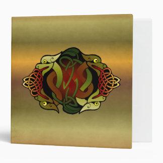 Celtic Dragon Ornament Binder