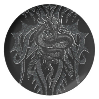 Celtic Dragon Plate