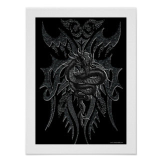 Celtic Dragon Poster