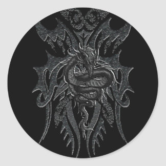 Celtic Dragon Sticker