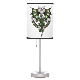 Celtic Dragon Table Lamp