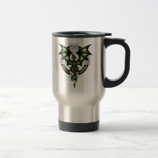 celtic Dragon Travel Mug