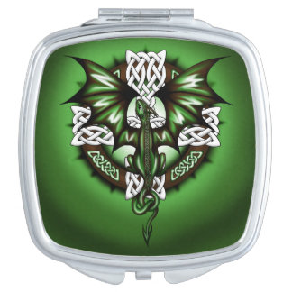 Celtic Dragon Vanity Mirrors