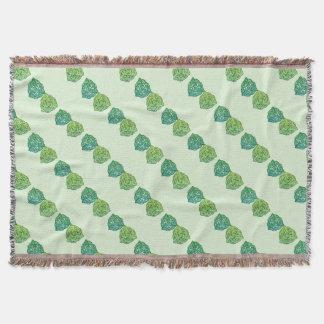 Celtic Emerald Throw Blanket