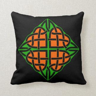 Celtic Eternal Heart Knot Irish Ireland Throw Pillow