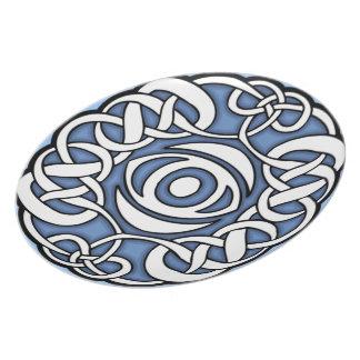 Celtic eye plate