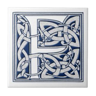 Celtic F Monogram Tile