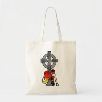Celtic Faerie Budget Tote Bag