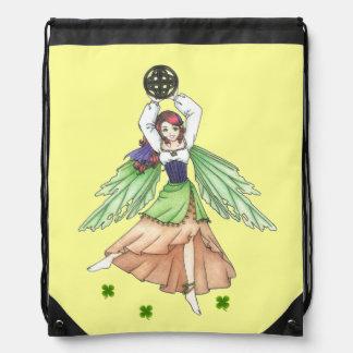 Celtic Faerie Drawstring Backpack
